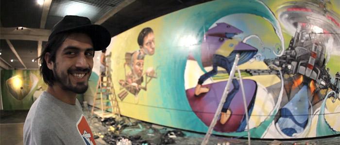 Graffiti Fine Art & The Pretty Lights